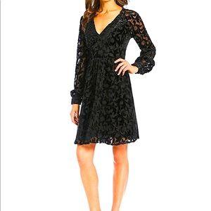 Michael Kors Holiday Black Dress XXL